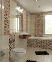 bilder 3d interieur badezimmer braun beige weiß baie bucur 1