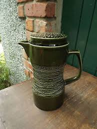 Image Is Loading Vintage 1960s Carlton Ware Tall Green Coffee Pot