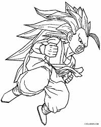 Awesome Goku Coloring Pages To Print