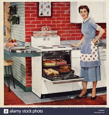 1950S USA Housewife Cooking Magazine Advert Detail