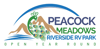 Peacock Meadows Riverside RV Park And Campground Logo