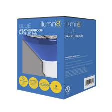 illumin8 i8par38 deco bl par38 blue led light bulb non dimmable