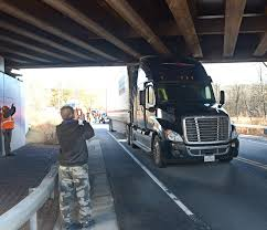 Glenville Bridge Struck Again By Tractor Trailer | The Daily Gazette