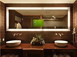 lighted mirror bathroom illuminated bathroom mirror wall lighted
