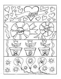 4 Unique And Fun Mothers Day Bookmarks Students Will Love To Color Print Them On
