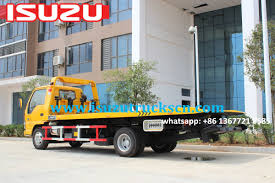 Africa 3ton Rescue Flatbed Tow Truck ISUZU For Sale Http://www ...