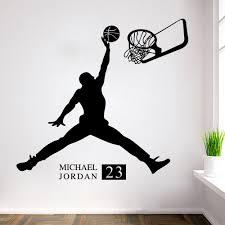 chambre basketball 2017 michael basketball inspirational wall sticker