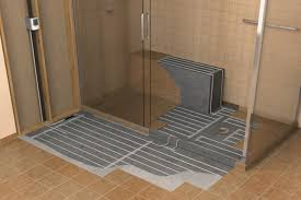 impressive electric floor heating heated tile throughout