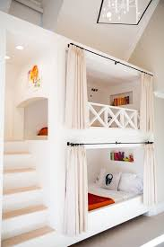 Kids Bedroom With Custom Built In Bunk Beds I Love The Steps Instead Of A