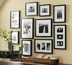 bilderrahmen collage wanddeko ideen mit fotorahmen