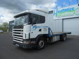 SCANIA 124 400 - Retarder Platform Trucks For Sale, Platform Lorry ...