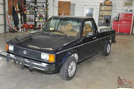 1981 Volkswagan Rabbit Diesel Pick-Up Truck Caddy
