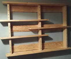 wood wall shelf plans