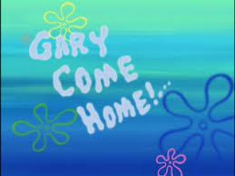 Gary e Home Encyclopedia SpongeBobia