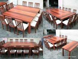 Dining Room Table Seats 12 Extension Best Large Tables Ideas On Home