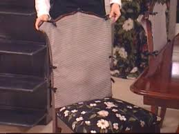 Chair Slip Cover Pattern by How To Sew Chair Covers Hgtv