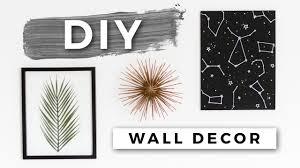 DIY Tumblr Room Decor Minimal Wall Art Dollar Store DIYs