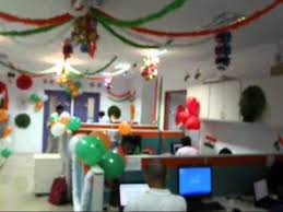 Cubicle Decoration Themes India by Independence Day Celebration At Chennai Office Of One97