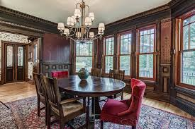 Tilton Coffered Ceiling Canada by A Whimsical Victorian House By The Sea Wsj