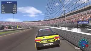 Nascar Heat Evolution - Richmond Setup 20.5s!!! - HD Vroman - YouTube