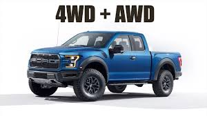 The New Ford Raptor Has Both 4WD & AWD! - YouTube