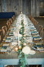 Blue And Gold Rustic Wedding Table Decorations