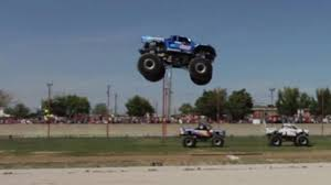 Watch: World Record Monster Truck Jump | Top Gear 5 Biggest Dump Trucks In The World Red Bull Dangerous Biggest Monster Truck Ming Belaz Diecast Cstruction Insane Making A Burnout On Top Of An Old Sedan Ice Cream Bigfoot Vs Usa1 The Birth Of Madness History Gta Gaming Archive Full Throttle Trucks Amazoncom Big Wheel Beast Rc Remote Control Doors Miami Every Day Photo Hit Dirt Truck Stop For 4 Off Topic Discussions On Thefretboard