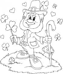20 Free Printable Leprechaun Coloring Pages