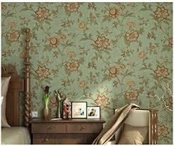 aoozu vintage garten blumentapete wohnzimmer schlafzimmer tv