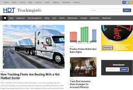 HDT Launches Redesigned Truckinginfo.com - Fleet Management ... 10 Best Cities For Truck Drivers The Sparefoot Blog Uber Hits The Brakes On Its Selfdriving Truck Division Disruption Has Brought To Taxi Business Is Coming 3 Tips Find Quality Carriers Be A Freight Broker Ramco News Tips And Insights Hcm Erp Logistics Driver Dot Osha Safety Traing Requirements Trucking Blogs 2018 Tg Stegall Co Our Life Road Page 2 Of 15 Northeast Trucking Company Adds Tail Farings To Cut Fuel Zdnet Logistix Company