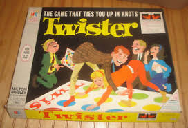 Image Is Loading Vintage Twister Board Game 1966 Milton Bradley Party