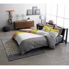 cb2 alpine gunmetal bed 200 apartment therapy