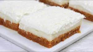 puddingschnitten mit kokos ohne backen türkischer zwiebackkuchen i etimek tatlisi