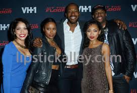 the cast of hit the floor attend the season 3 premiere of vh1 s
