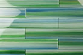 modern style green glass tile and green subway glass tiles