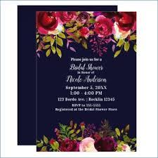 Floral Wedding Invitations nmelks