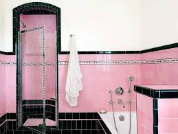 Move Over Subway Tile The Old World Material Making A Comeback by Brand New Colorful Bathrooms That Look Vintage Or Retro