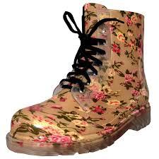 amazon com velcans fashion transparent and flat ladies rain