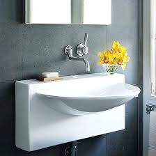 small sinks for small bathroom best pedestal sinks for small
