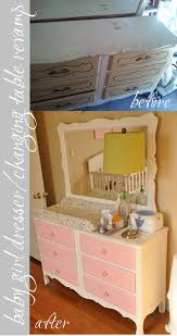 Baby Changing Dresser With Hutch by Baby Nursery Dresser Changing Table Revamp Hair Teasing