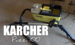 Karcher Floor Scrubber Attachment by Karcher Puzzi 100 Carpet Full Review Youtube