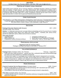 Legal Assistant Resume 7 Samples Administrative Job Description