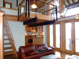 Authentic and Cozy Modern Cabin Plans with Loft — MODERN HOUSE PLAN