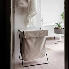 wäschekörbe mit schönem design schöner wohnen