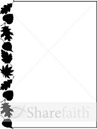 292x388 Fall Festival Black And White Clipart