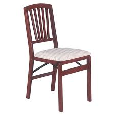 Stakmore Urn-Back Upholstered Folding Chair - Set Of 2 Wood Folding Chairs With Padded Seat White Wooden Are Very Comfortable And Premium 2 Thick Vinyl Chair By National Public Seating 3200 Series Padded Folding Chairs Vintage Timber Trestle Tables Natural With Ivory Resin Shaker Ladder Back Hardwood Chair Fruitwood Contoured Hercules Wedding Ceremony Buy Seatused Chairsseat Cushions Cosco 4pack Black Walmartcom