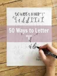 50 Ways To Draw An F