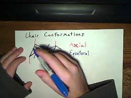 Chair Conformation Of Cyclohexane Ppt by Organic Chemistry Tutorial Cyclohexane Chair Conformations Youtube