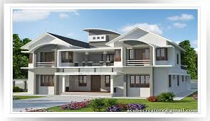 6 Bedroom Modern House Plans