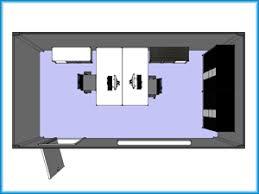 bungalow bureau module ou bungalow bureau